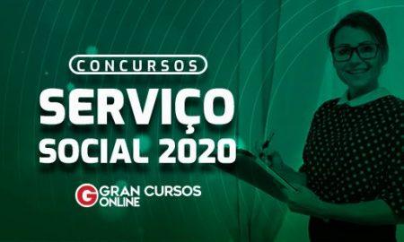 Concursos Serviço Social 2020