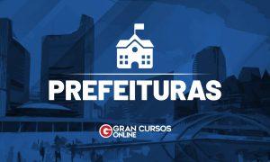 Concurso Prefeitura de Capim PB: provas dia 18 de outubro! VEJA!