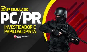 Concurso PC PR: Simulado no próximo sábado. Participe!