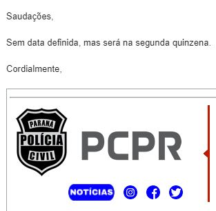 Concurso PC PR: Polícia Civil do Paraná (PCPR) se reunirá com a UFPR.