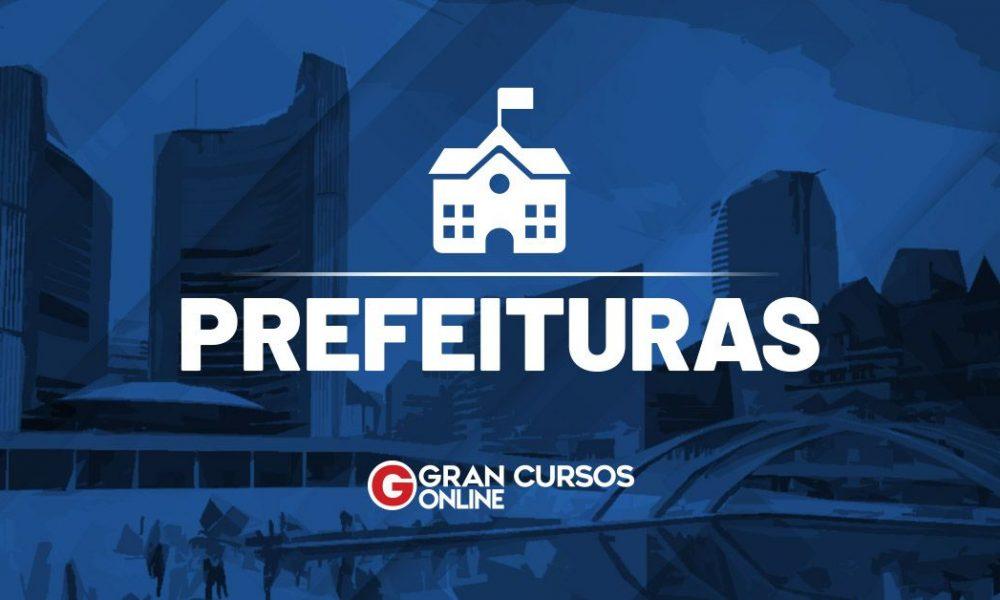 Concurso Prefeitura de Campo Belo MG- Edital Prefeitura Goiatuba GO: SAIU O EDITAL. VEJA!