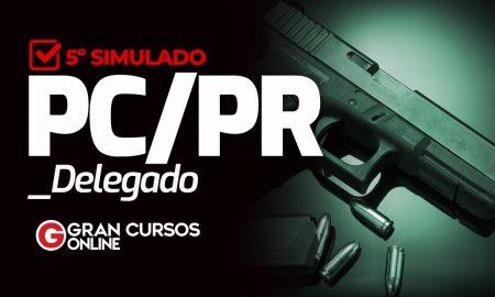 Concurso PC PR: Simulado para delegado PCPR