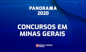 Concursos MG 2020: confira os concursos previstos para Minas Gerais!
