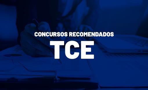 Concursos públicos recomendados pelos TCEs