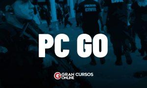 Concurso PC GO: Delegado confirma 1.500 cargos vagos! Edital em breve