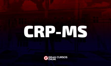 Edital CRP MS