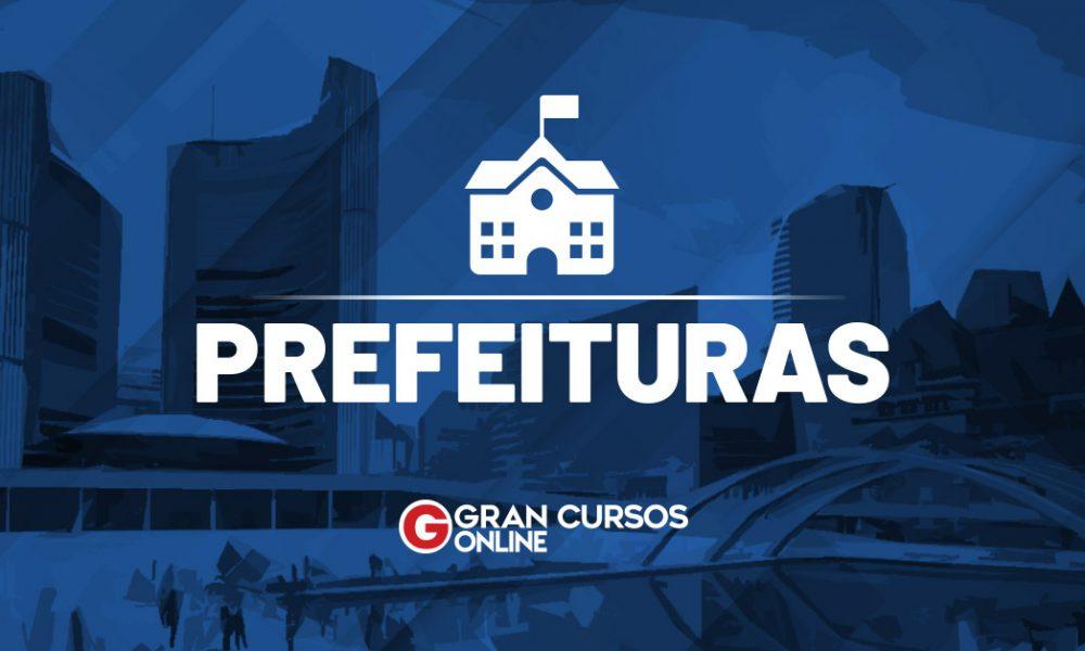 Concurso Prefeitura de Pedra Mole SE: SAIU O EDITAL. VEJA!