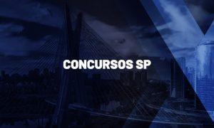 Concursos SP 2021: Atualizado! Salários de até R$ 8,3 mil