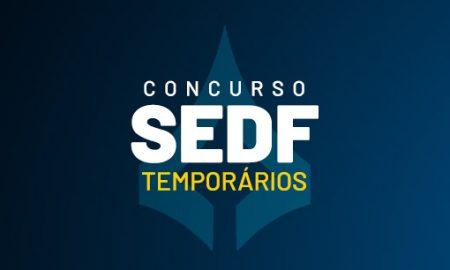 Concurso SEDF Temporários