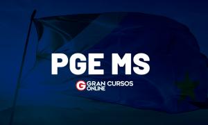 Concurso PGE MS Procurador: Regulamento publicado! Confira AQUI!