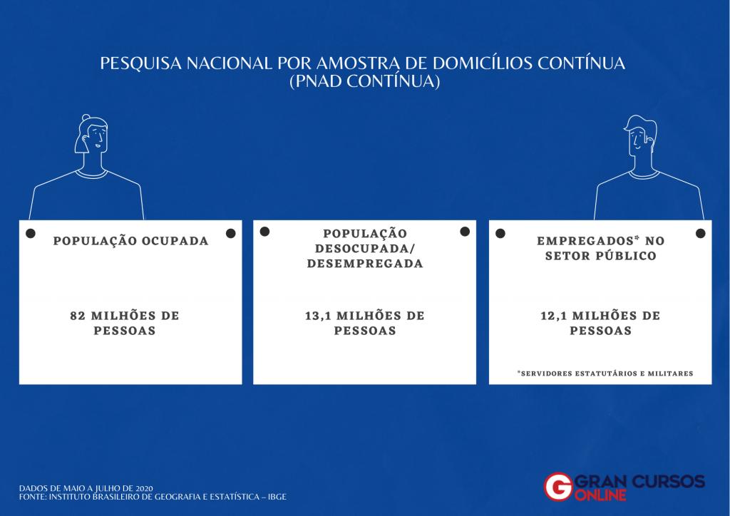 PNAD continua - IBGE - concurso