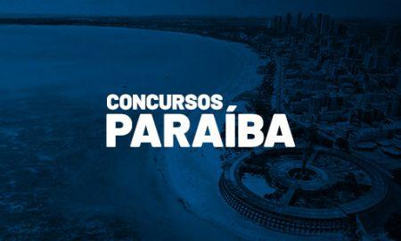 Concursos PB 2021 Paraíba