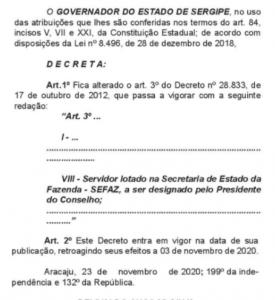 Nova Organização CRAFI SE