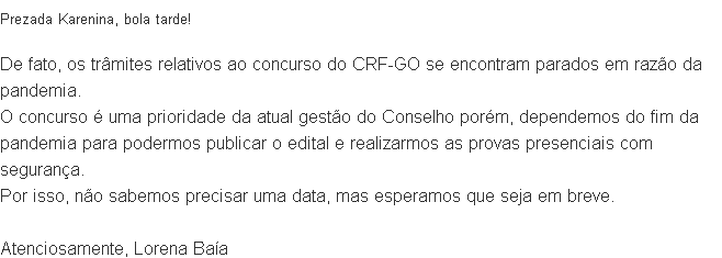 concurso CRF GO