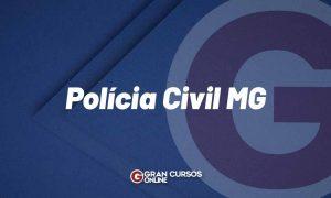 Concurso Polícia Civil MG: nomeados são convocados para posse