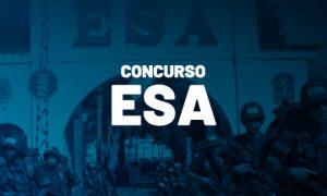 Concurso ESA: inscrições reabertas! São 1.100 vagas