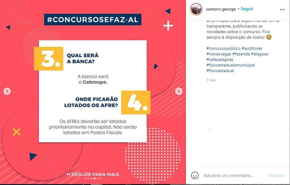 Concurso Sefaz AL