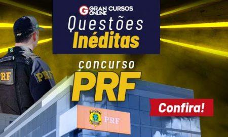 Questões inéditas para o concurso PRF. Confira!