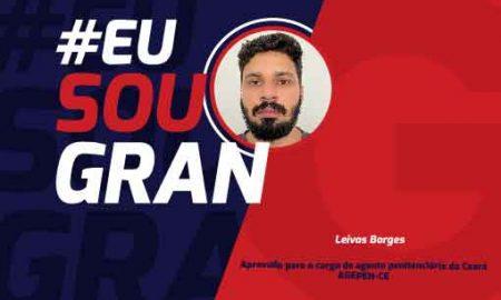 Leivas Borges - aprovado AGEPEN-CE