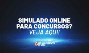 Simulado Online para Concursos? Veja aqui!