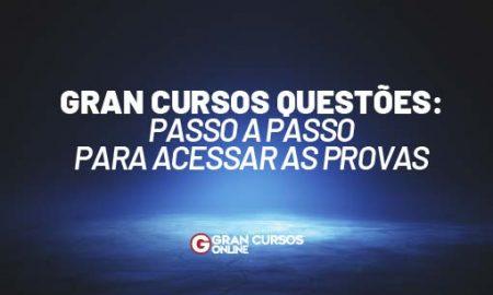 Gran Cursos Questões: passo a passo para acessar as provas