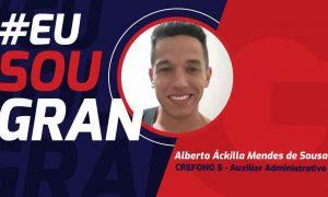 Alberto Áckilla conquistou a aprovação no concurso CREFONO 5