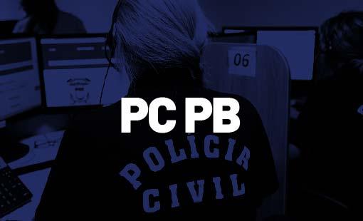 Concurso PC PB - concurso polícia civil pb