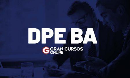 Concurso DPE BA
