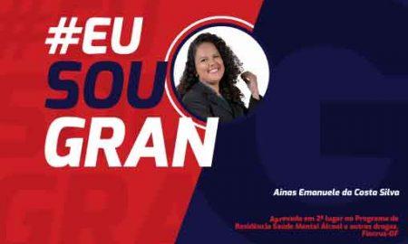 Conheça Ainas Emanuele da Costa Silva aprovada em 2° lugar pela Fiocruz!