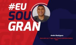 André Rodrigues foi aprovado em 2° lugar pelo TRF1