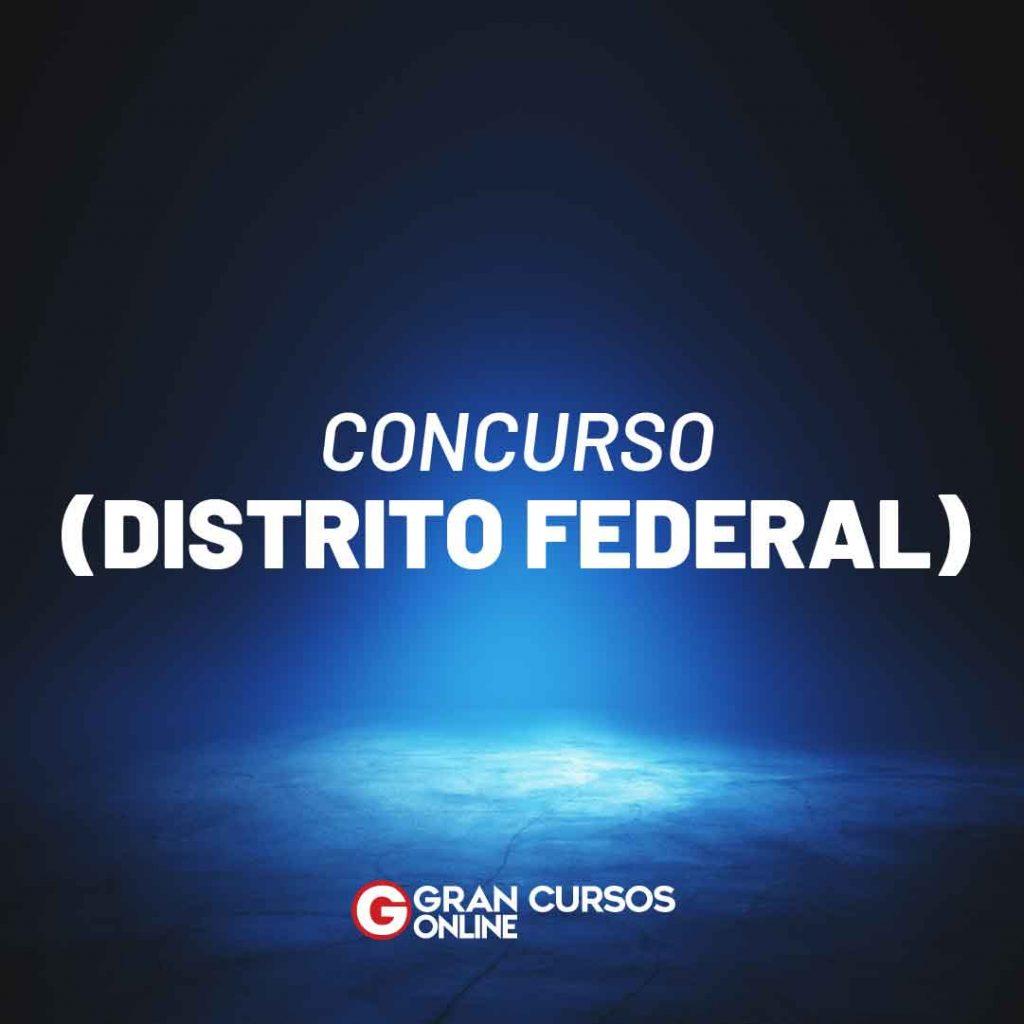 Concurso Distrito Federal
