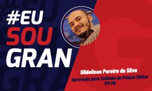 Aprovado no concurso PM PB: conheça Gildeilson Pereira!