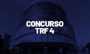 Concurso TRF4: Certame retomado normalmente! R$12 MIL!