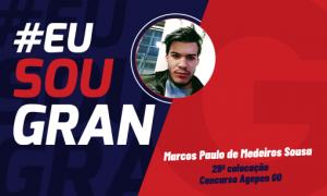 Veja a história do Marcos, aprovado no concurso Agepen GO