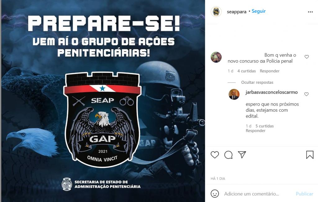 Concurso Seap Pa
