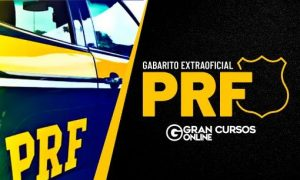 Gabarito PRF: correção da prova e gabarito extraoficial. Veja!