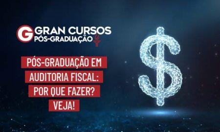 Pós-graduação em Auditoria Fiscal. Auditor Fiscal
