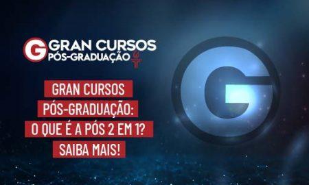 Gran Cursos Pós-Graduação: o que é a pós 2 em 1? Saiba mais!