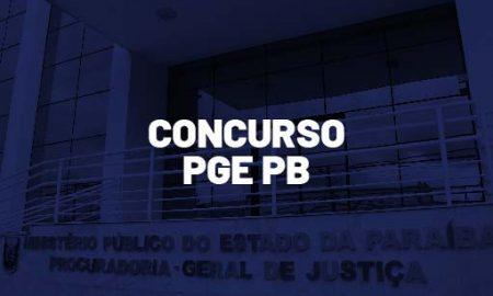 Concurso PGE PB