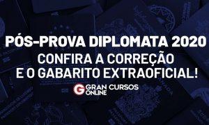 Gabarito Diplomata 2020: Confira os comentários da prova!