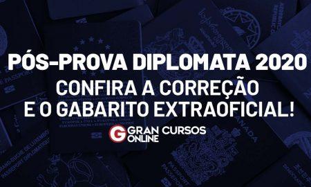 Gabarito Diplomata 2020