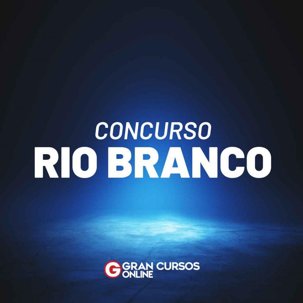 Concurso Rio Branco