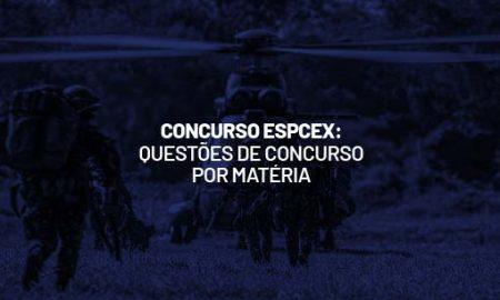 Concurso EsPCEx: questões de língua portuguesa. Veja! questões de química para o Concurso EsPCEx