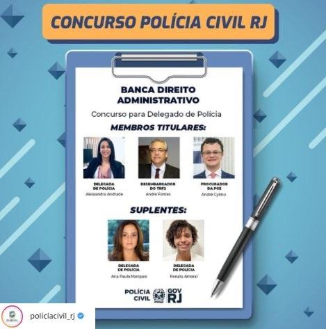 concurso policia civil rj banca direito administrativo