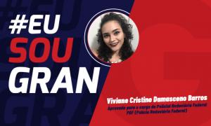 Aprovada no Concurso PRF: conheça Viviane Cristine Damasceno!