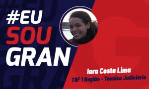 Iara Costa Lima Concurso TRF 1