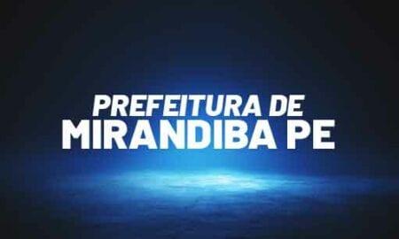 Concurso Mirandiba PE