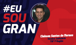 Concurso TRF 1: Clebson foi aprovado para o cargo de Técnico Judiciário