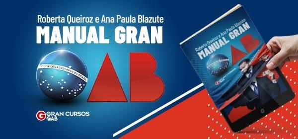 Passe na OAB: confira o manual gratuito para 1° e 2° fase!
