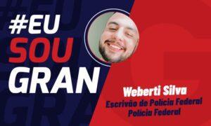 Conheça a história de Weberti Silva, classificado no concurso da PF